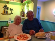 Meet Dave and Elaine who come in weekly for Chicken Pot Pie and Cannolis!
